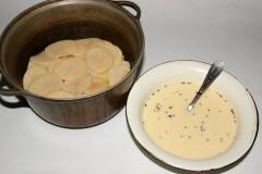 Картофель по-савойски