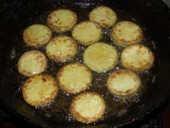 Рецепт жареных кабачков с чесноком