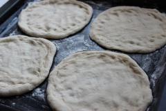Постная пицца на рассоле
