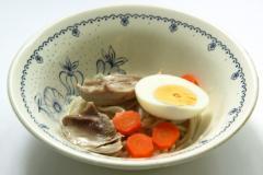 Рецепт супа с яйцом и спагетти