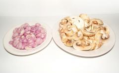 Рецепт жюльена со свиным мясом и грибами