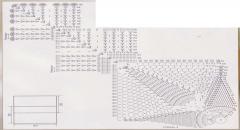 Вязание подушки крючком - схема