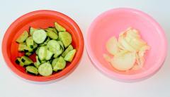 Рецепт греческого салата с маслинами и брынзой