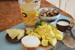 Рецепт вкусного грибного супа - мастер класс с фото