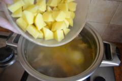 Рецепт рисового супа с печенью