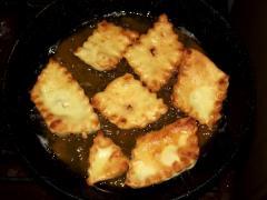 Бабушкин рецепт пышек на сковороде