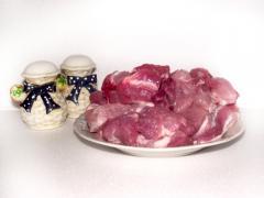 Нежное мясо в подливе с майораном и рисом