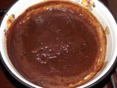 Рецепт шоколадно-кофейного печенья с арахисом