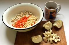Сборный осенний салат