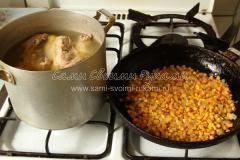 Кукурузный суп с молоком (мексиканский)