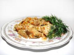 Рецепт плова из дикого риса со свининой
