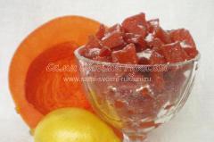 Цукаты из тыквы - рецепт с фото