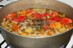 Рецепт шурпы из баранины