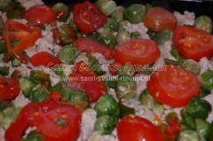 Рецепт картофельной запеканки с фаршем и овощами