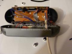 Ремонт электронных часов-будильника