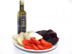 Винегрет на оливковом масле