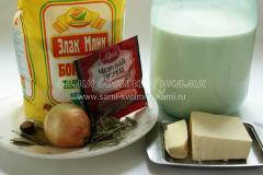 Белый соус бешамель для лазаньи и других блюд