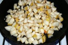 Рецепт фруктового салата с пряностями