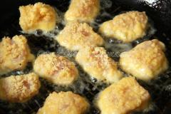 Наггетсы из куриного филе в кляре
