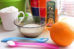 Рецепт постных апельсиновых кексов