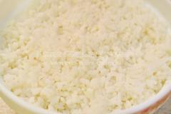 Блины с куриной печенью и рисом
