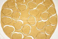 Печенье в виде Сердечек, рецепт для влюбленных