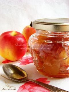 Яблочное варенье дольками - рецепт на зиму