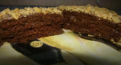 Кекс шоколадный за 5 минут - рецепт