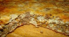 Рецепт мясного пирога