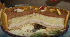 Торт на 3 года ребенку - рецепт