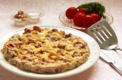 Запеченая индюшатина с сыром в форме, рецепт
