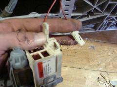 Замена дренажного насоса в стиральной машинке