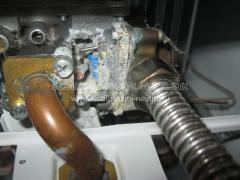 Замена резиновой мембраны газовой колонки Termet Terma QG 19-01