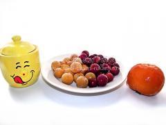 Зимний компот из замороженных фруктов