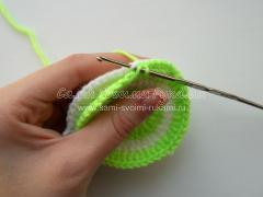 Вязание игольницы крючком