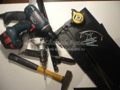 подготовим инструменты для сборки выдвижного ящика