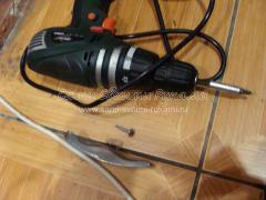 Экспресс - ремонт ручки на китайской металлической двери, мастер класс с фото