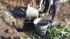 Заливаем яму водой