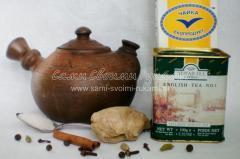 Ингредиенты для масала чая