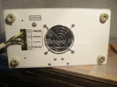 Подсоединение проводов к стабилизатору.