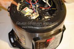 Ремонт мультиварки. Разборка и чистка от загрязнений