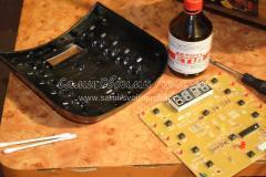 Чистка залитой водой электроники мультиварки - ремонтируем своими руками, фото