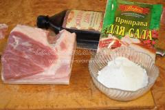 готовим ингредиенты