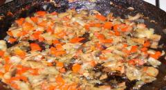 Фаршированная курица - рецепт приготовления