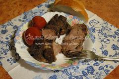 Варено-копченая говядина в мультиварке