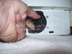Чистка фильтра насоса стиральной машины Indezit