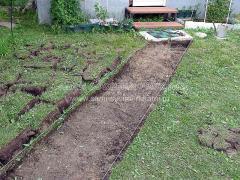 Садовые дорожки своими руками, как сделать недорого