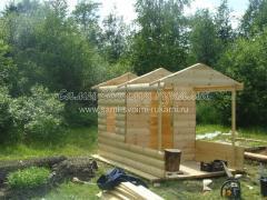 Детский домик из дерева, как сделать