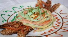 Рецепт пасты с куриным филе - фото