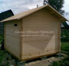 Монтаж заготовки крыши